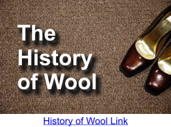 The History of Wool